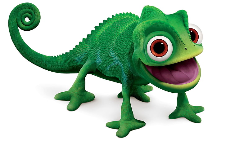 HD wallpaper: green chameleon clip art, fun, animal, toy.