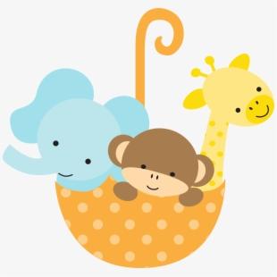 Baby Shower Free Baby Animals Clipart , Transparent Cartoon.