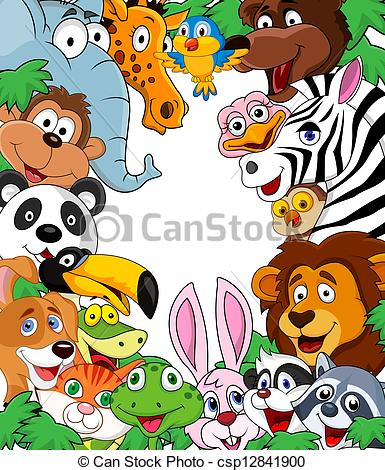 Animal background clipart 5 » Clipart Station.