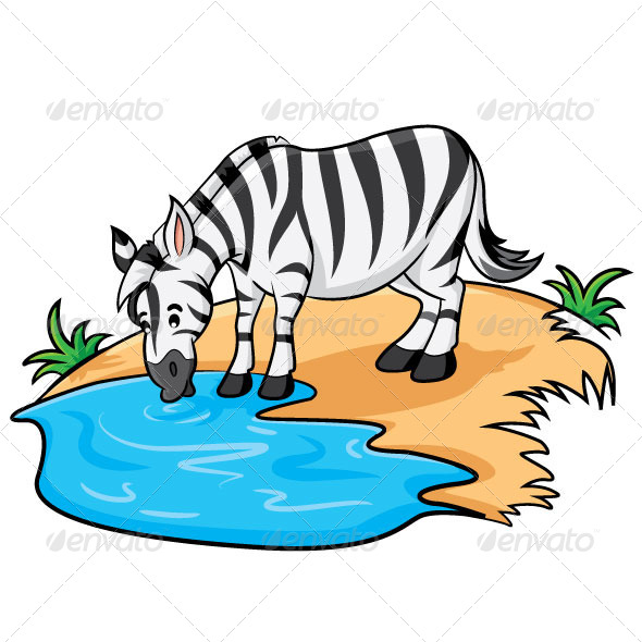 Showing post & media for Animals drinking water cartoon.