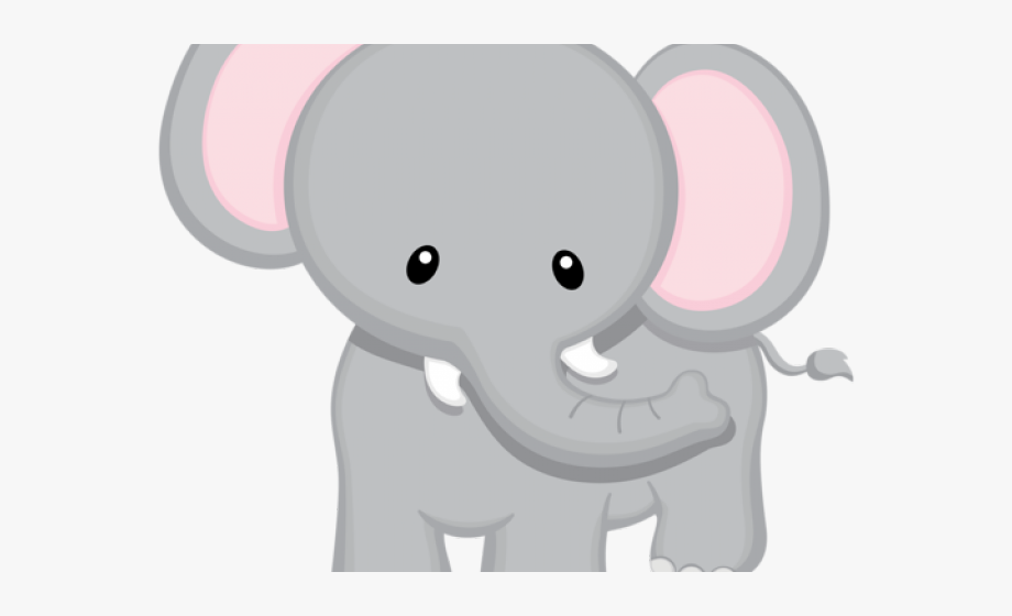 Baby Animal Clipart Big Small Elephant.