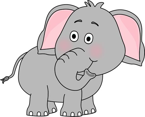 Elephant Animal Clipart.