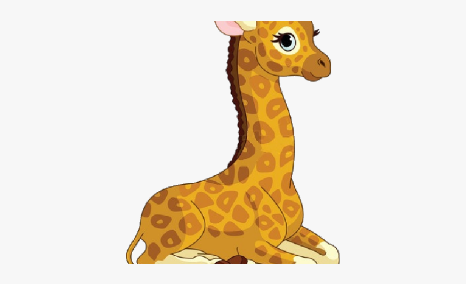 Cartoon Animals Clipart Giraffe.