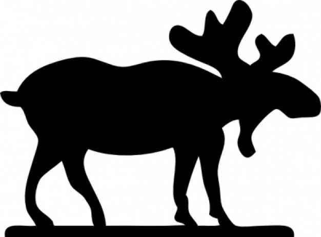 Moose animals clip art my ctr ring image.
