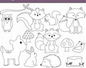 Woodland Baby Animals Coloring Pages Coloring Pages.