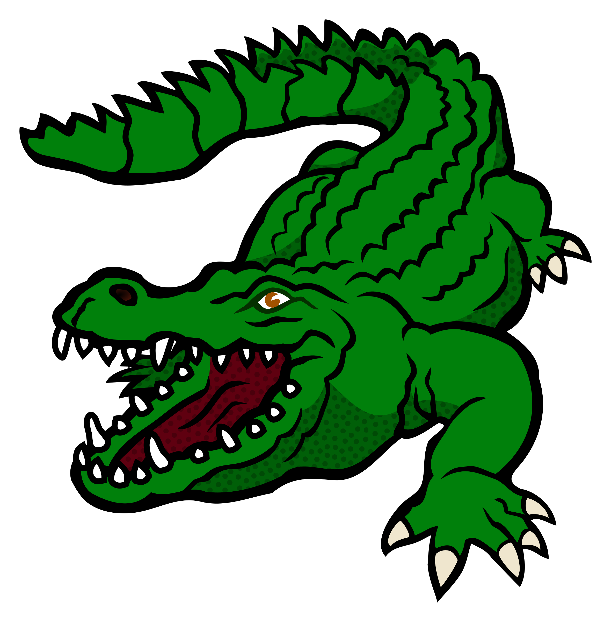 Crocodile clipart png.