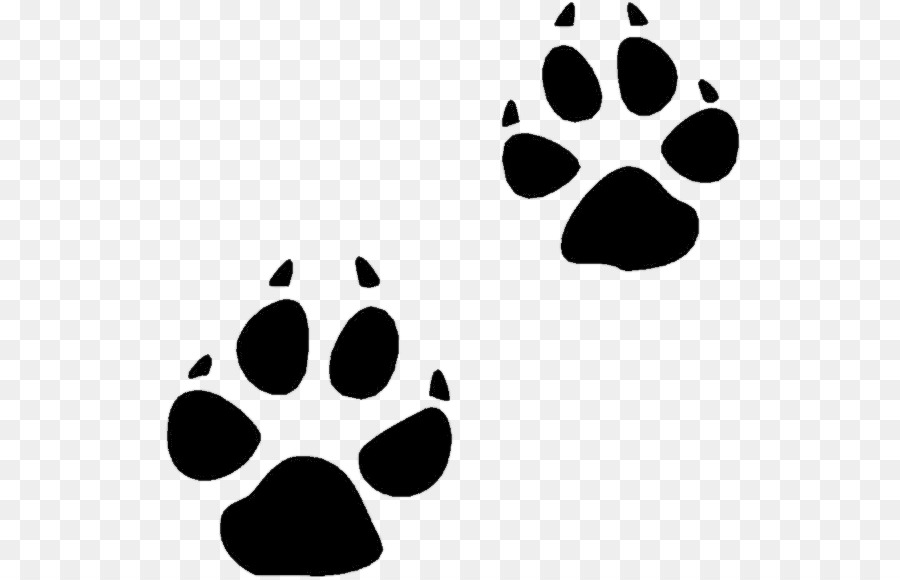 Bear Footprint Clipart.