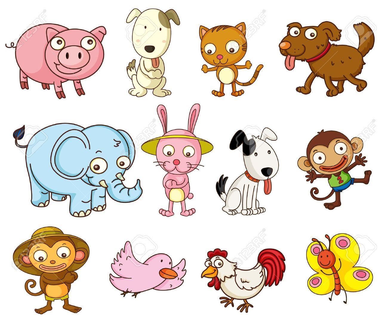 Animals In Clipart.