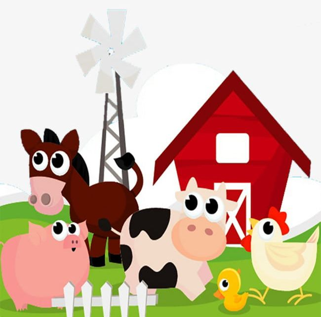 Hand Drawn Fallow Farm PNG, Clipart, Agriculture, Animal.