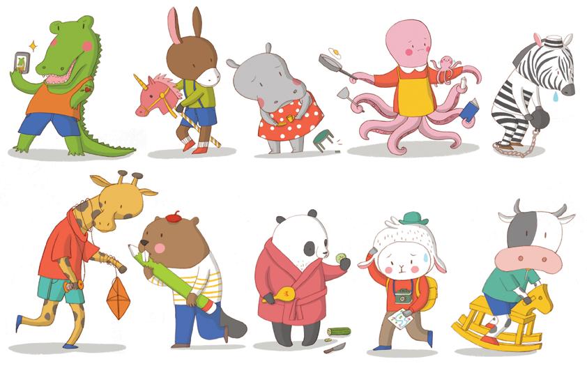 100 Animals.