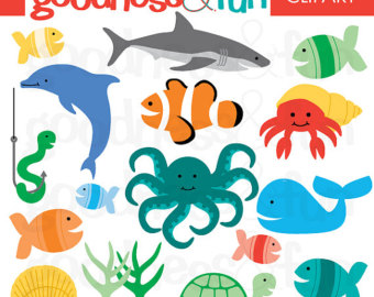 Free Ocean Animal Cliparts, Download Free Clip Art, Free.
