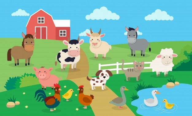 Farm Animals Vectors, Photos and PSD files.