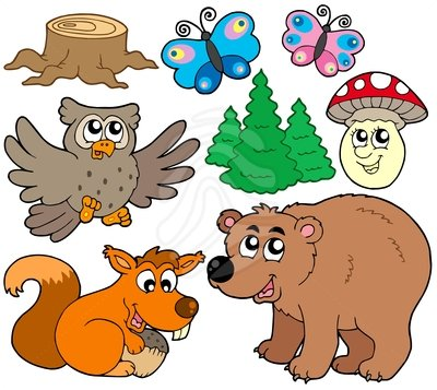 Forest animals clipart 8 » Clipart Station.
