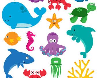 Ocean Animals.