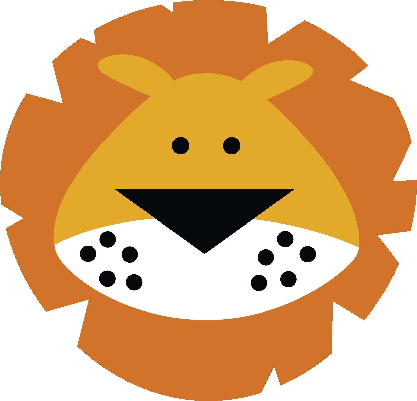 lion face (MISS KATE CUTTABLES).