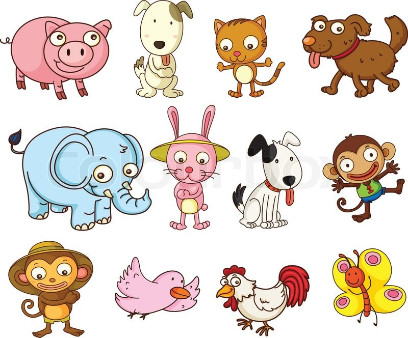 Animals live in land clipart 8 » Clipart Station.