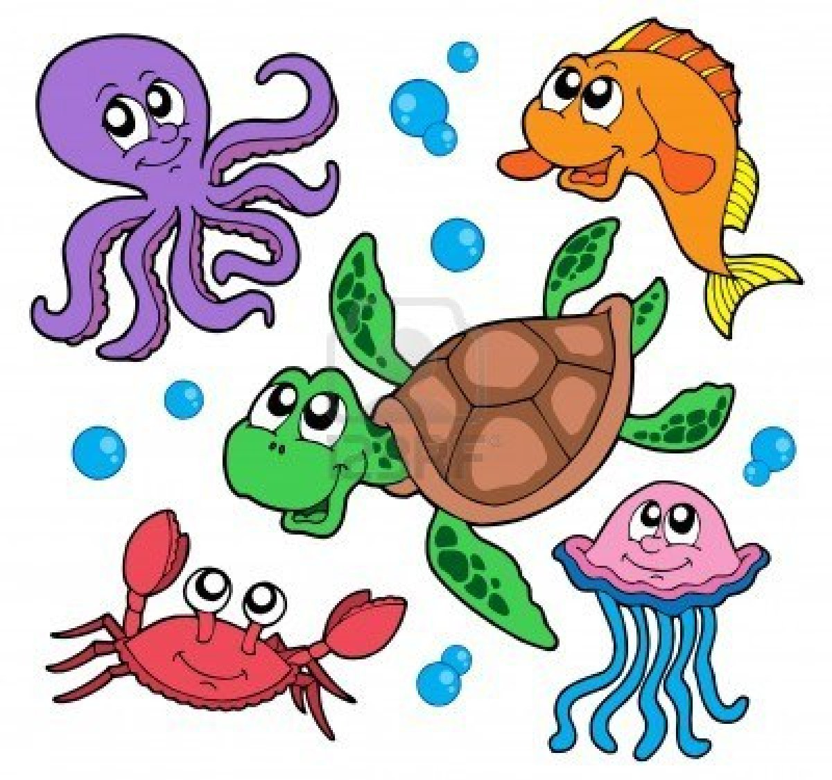 Animals live in water clipart 11 » Clipart Station.