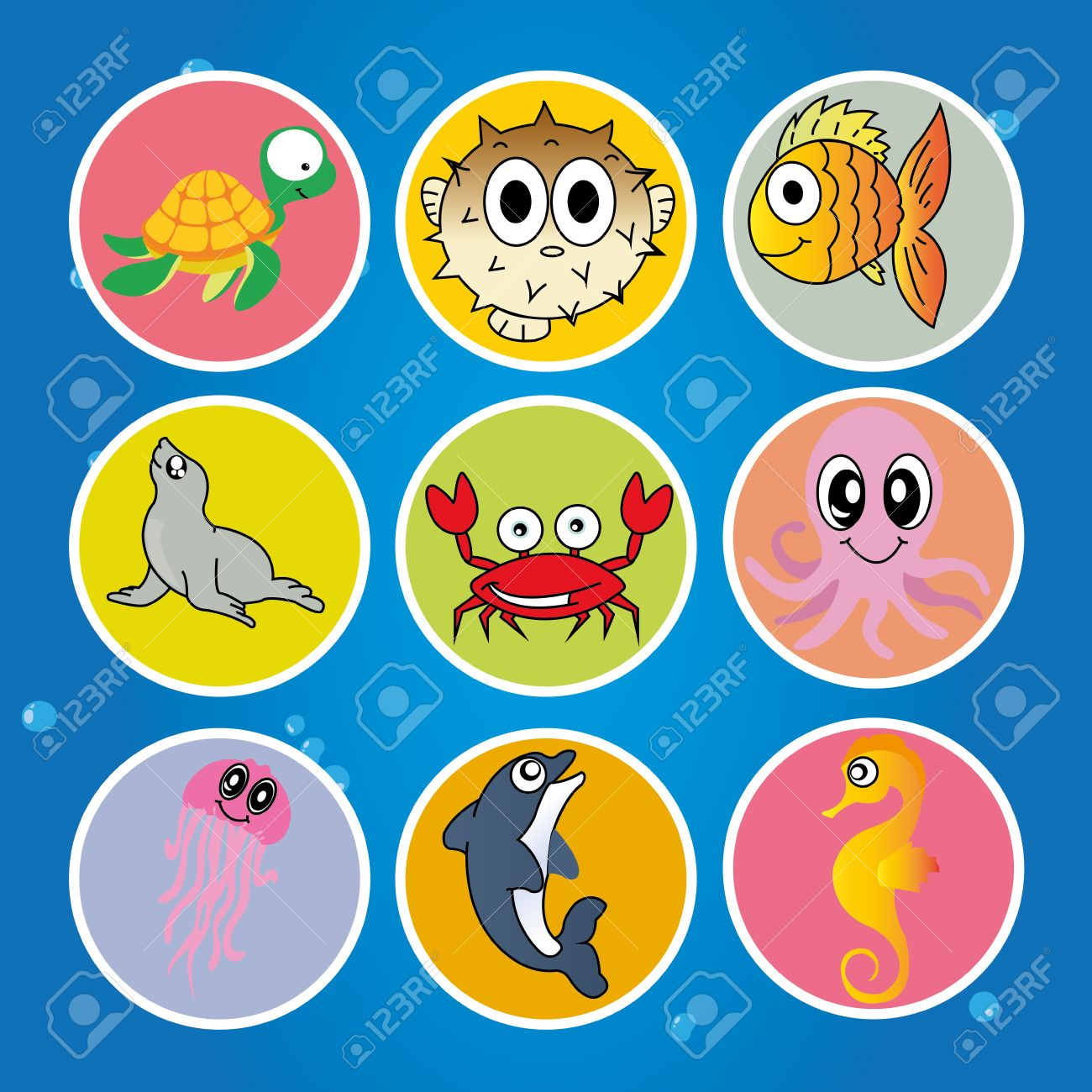 Animals live in water clipart 9 » Clipart Station.
