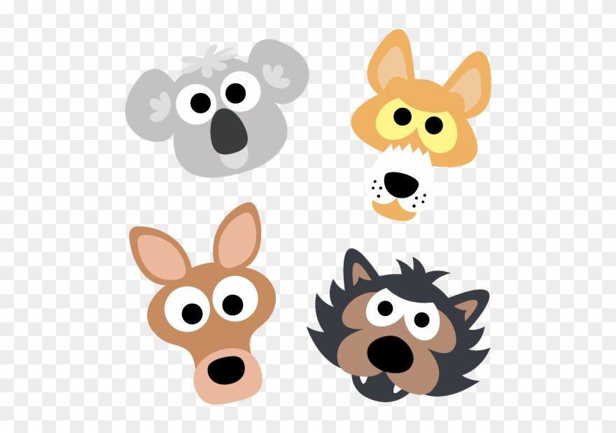 Printable Australian Animal Masks.