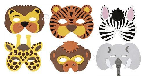 free printable animal masks templates.