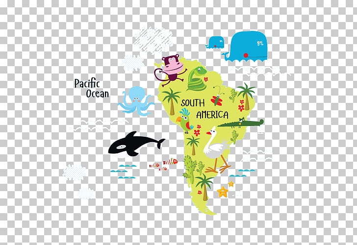 South America Stock illustration Illustration, South America.