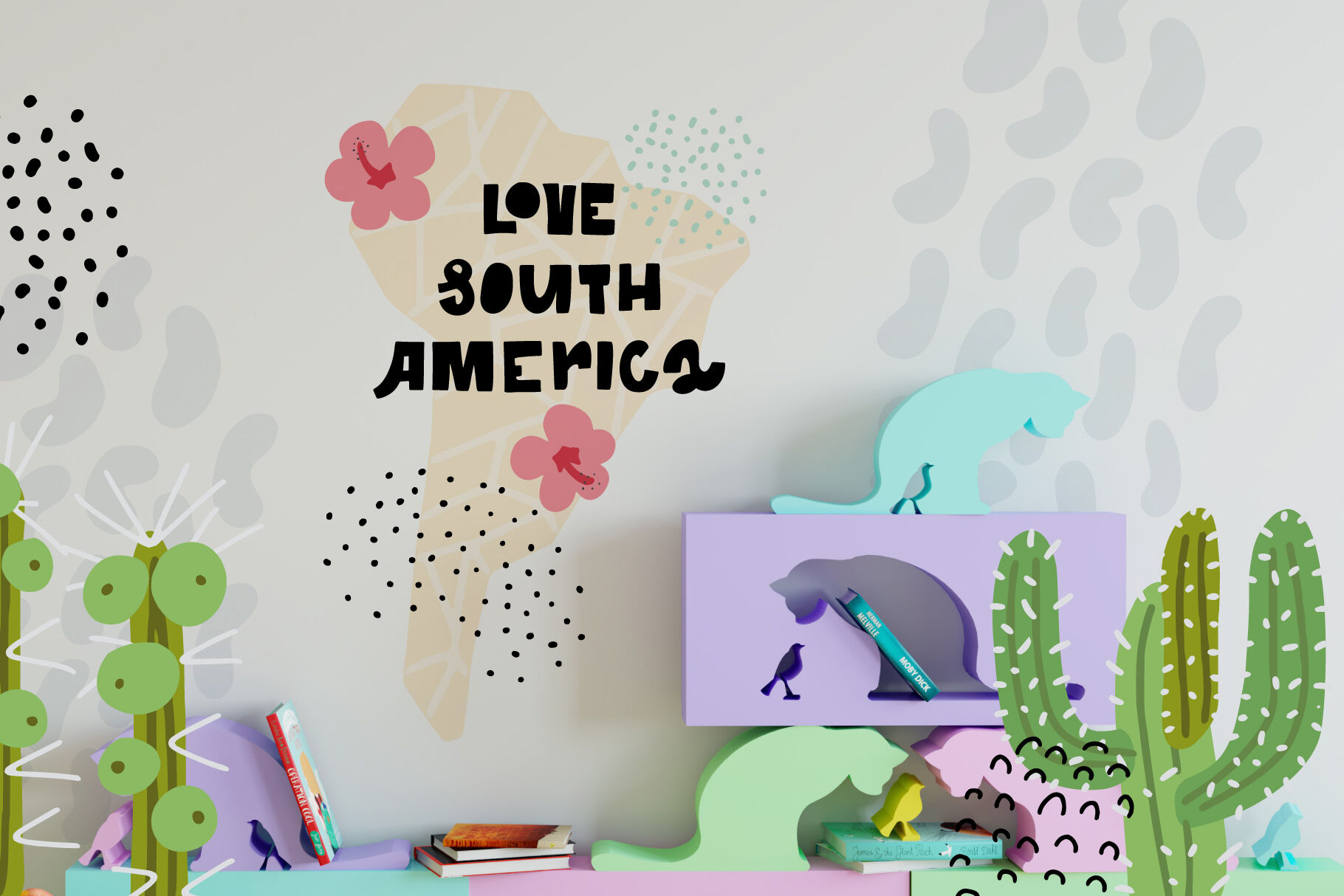 My South America Animals Clipart By Ksenias Store.