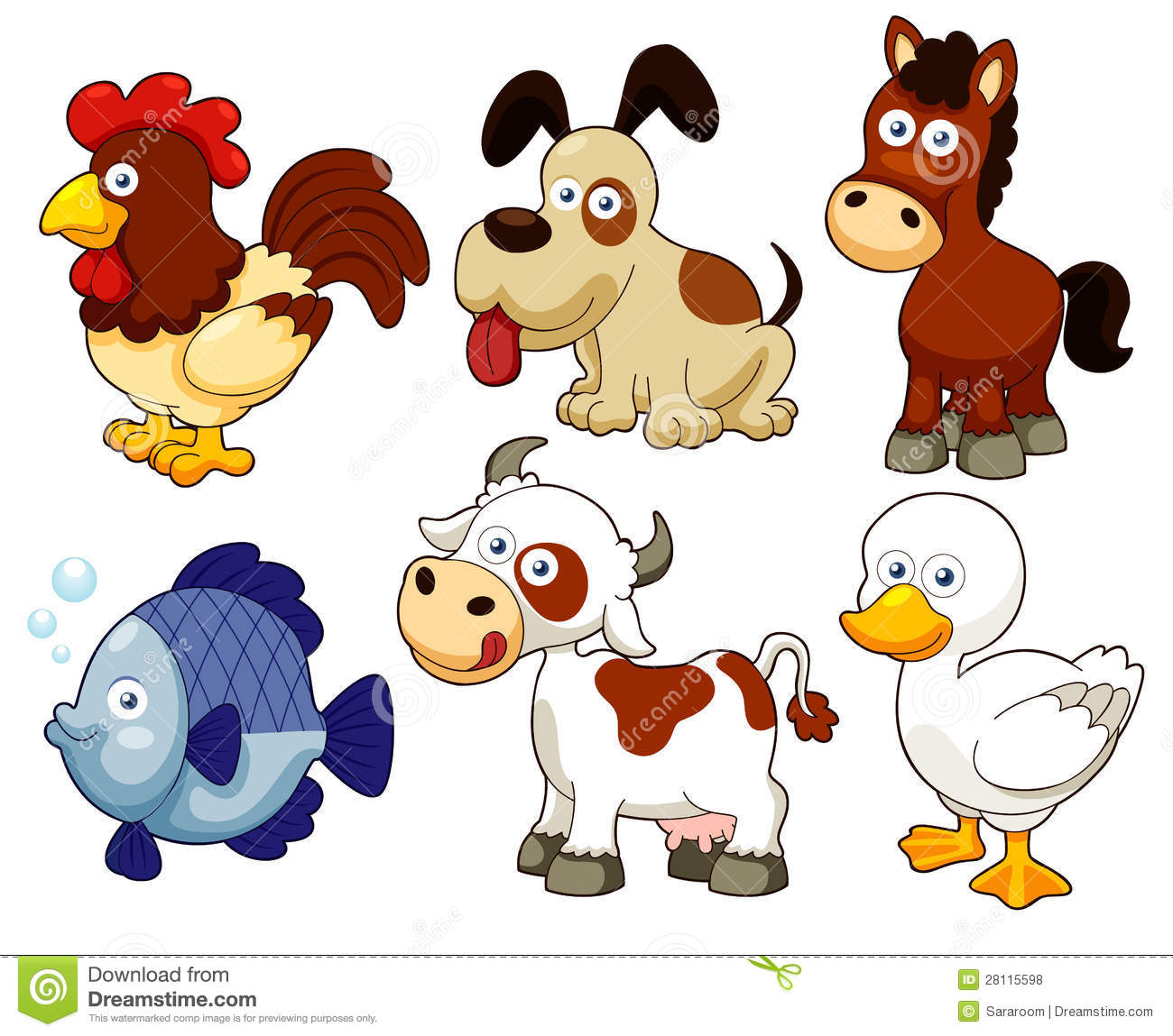Land animals clipart 8 » Clipart Station.