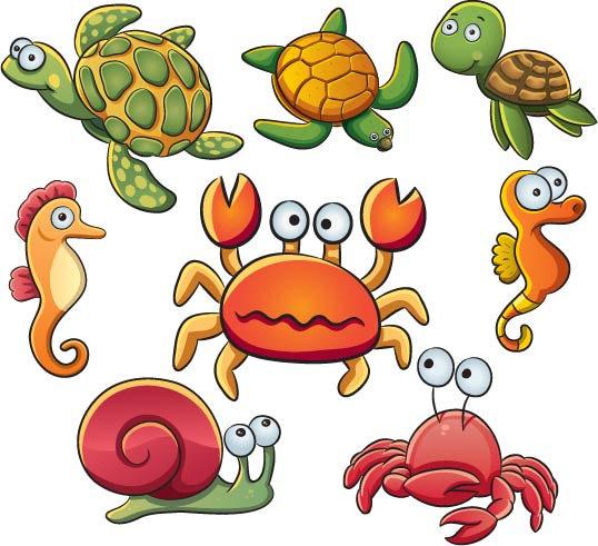 Free Sea Animal Art, Download Free Clip Art, Free Clip Art.