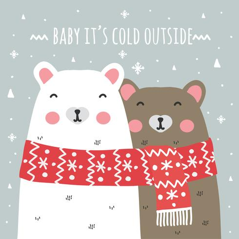 Baby It\'s Cold Outside Background.