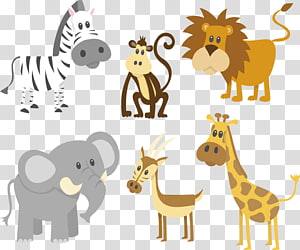 Zoo animals , Cartoon Safari , orangutan transparent.