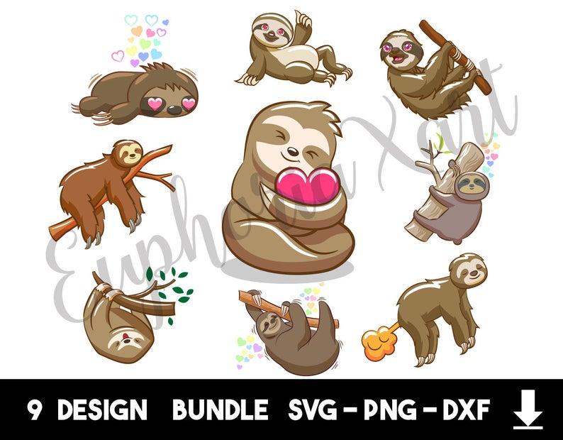 Sloth clipart ,Sloth vector ,Sloth design ,Sloth logo ,Sloth.