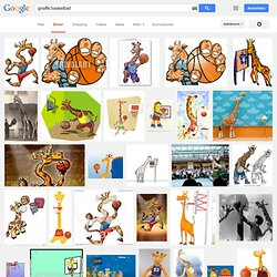 Cartoon Animals Playing Sports.