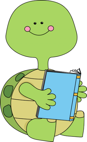 animals reading books clipart - Clipground