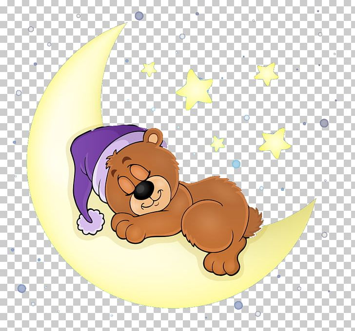 Bear Sleep Illustration PNG, Clipart, Animals, Art, Bear.