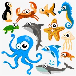 Design Animals Nature Marine Life.