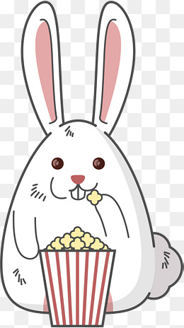 1804 Popcorn free clipart.