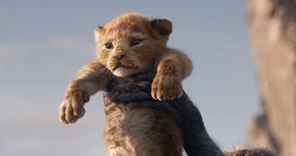 How They Made Little Simba Look So Lifelike in \'The Lion.