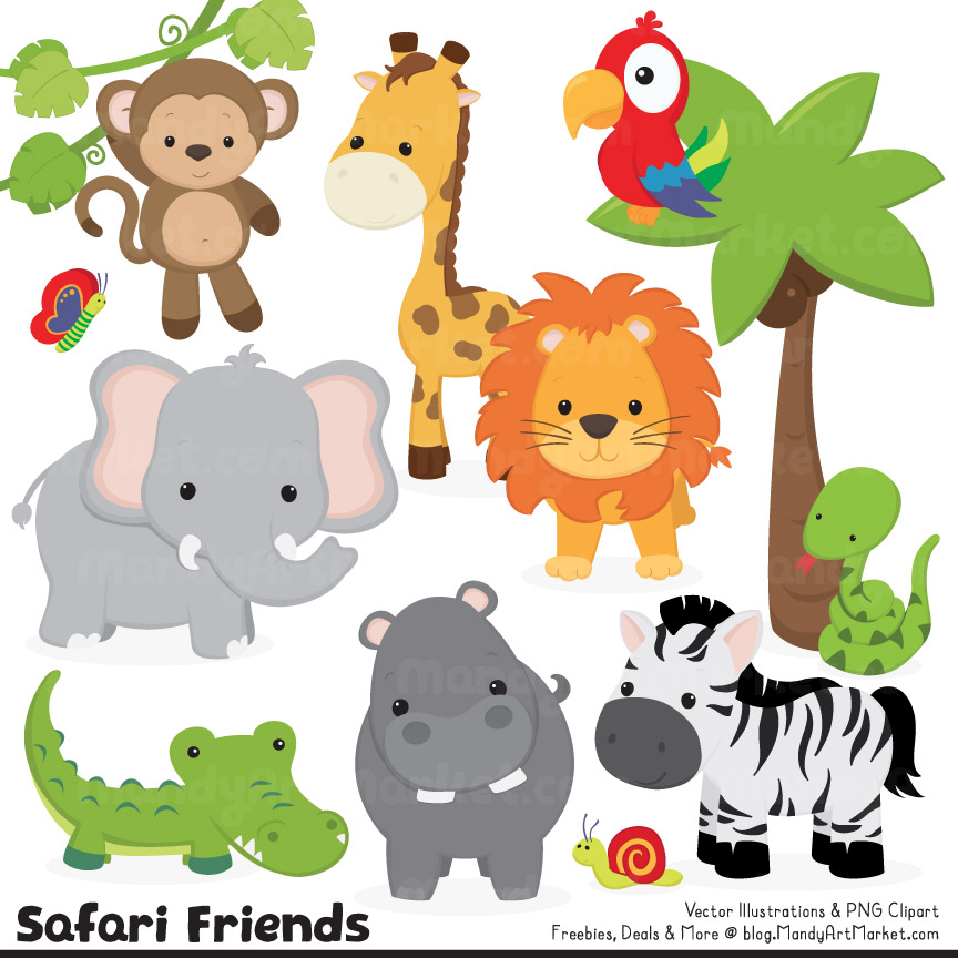 Jungle Animal Clipart & Jungle Animal Clip Art Images.