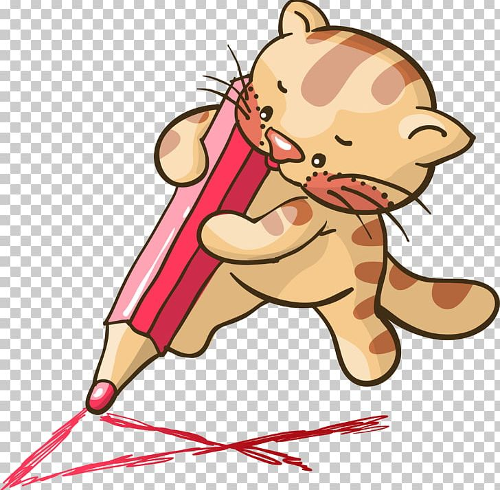 Kitten Turkish Angora Pencil Cartoon PNG, Clipart, Animals.