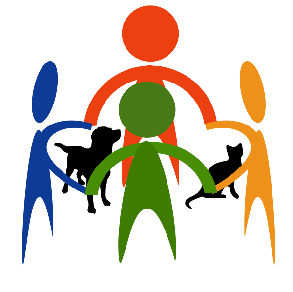 People And Animals Clipart.