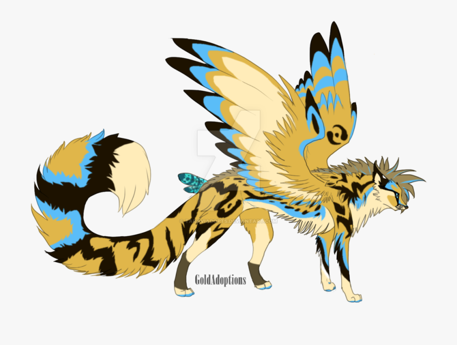 Winged Cheetah Oc Auction By Taraviadopts.