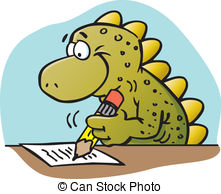 Animals Writing Clipart.