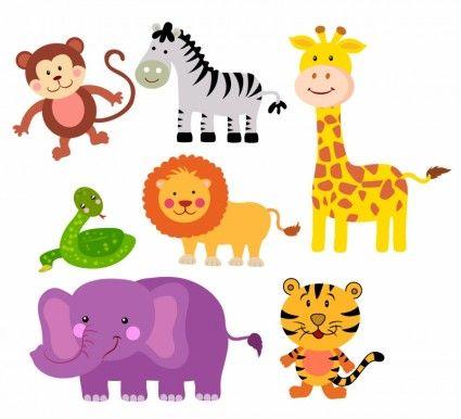 Safari Animals.