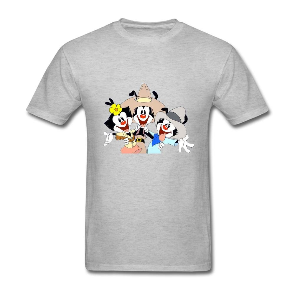 Amazon.com: Cloud Space Men\'s Animaniacs Logo Short Sleeve T.