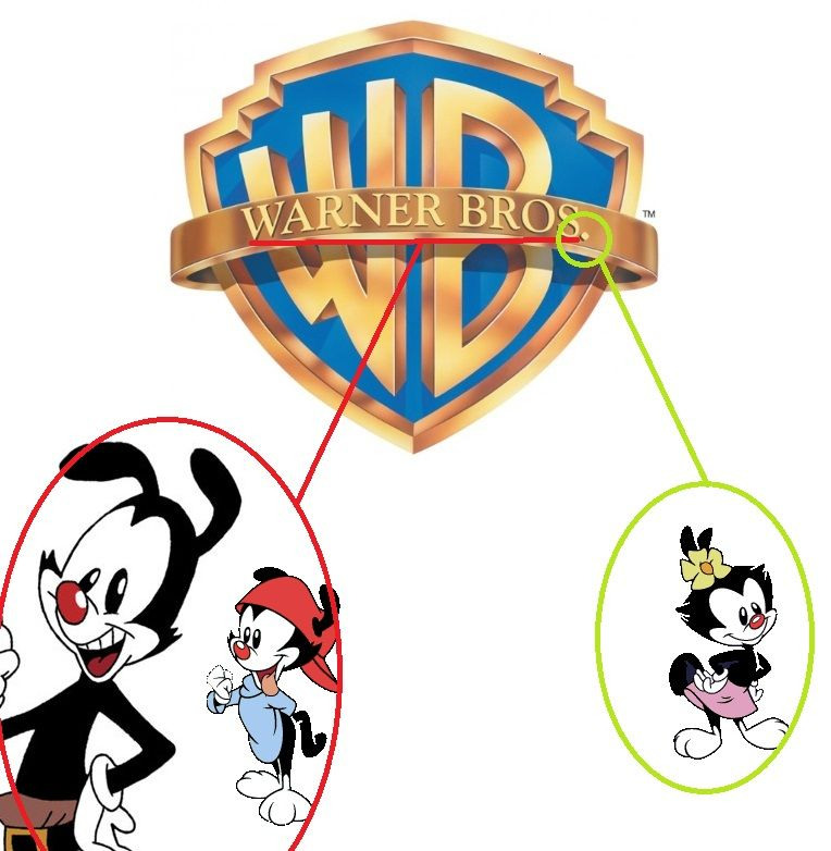 Dots Name is the dot on the WB Logo.