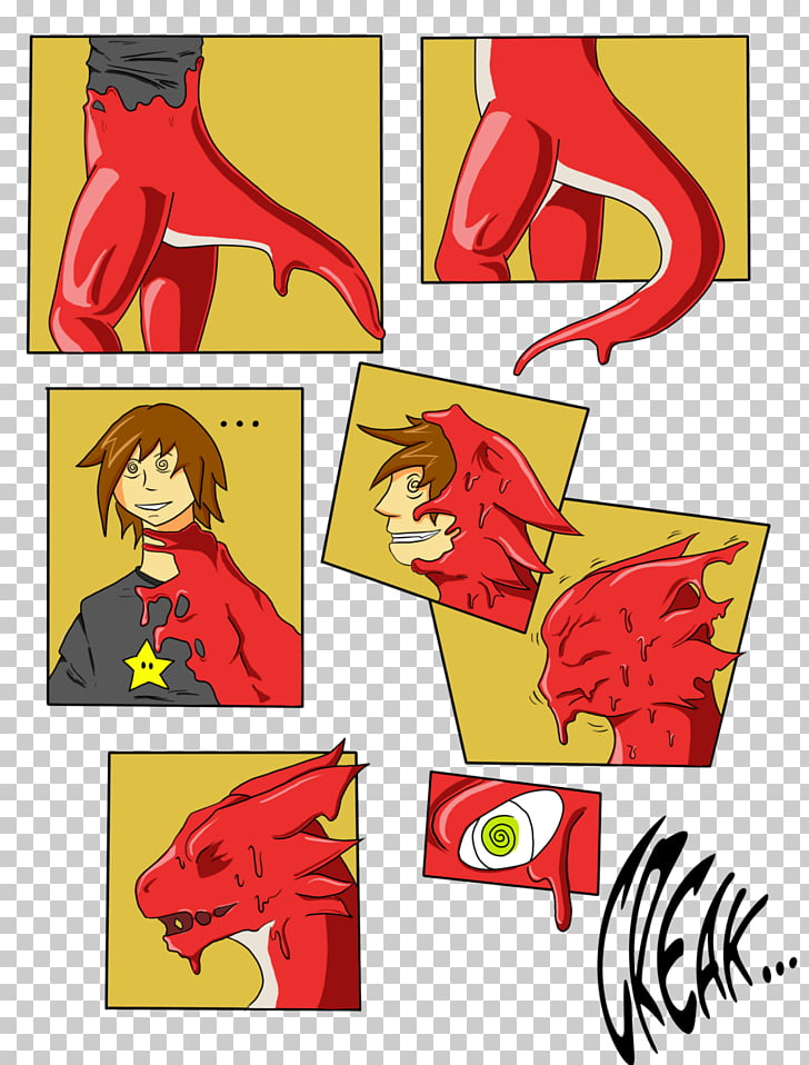 Dragon Drawing Sequence, transformation PNG clipart.