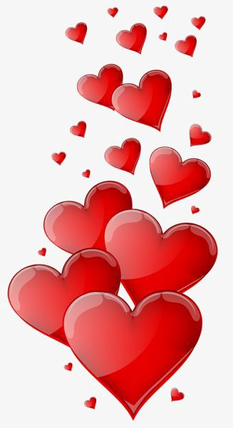 Love Decoration, Love Clipart, Red Love, Heart Shaped PNG.