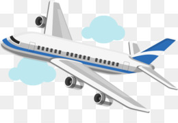 Cartoon Airplane PNG.