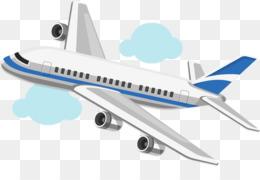 Cartoon Airplane PNG.