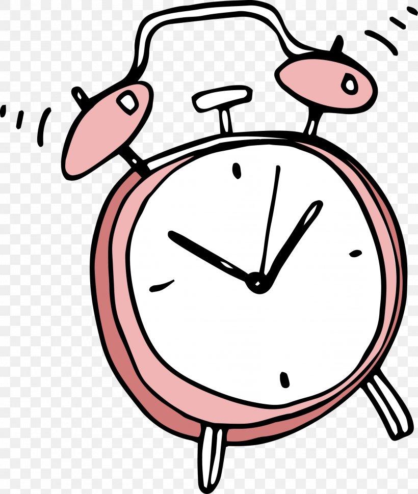 Alarm Clock Cartoon Clip Art, PNG, 2191x2593px, Alarm Clock.
